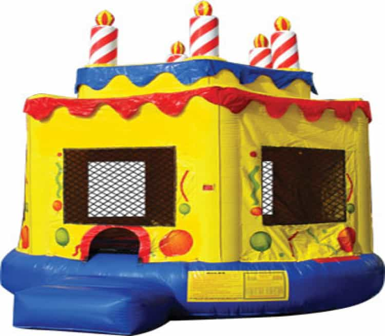 Birthday Cake 17ft x 16ft Large Bounce House
