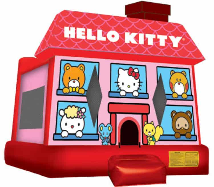 Hello Kitty 17ft x 16ft Large  Bounce House