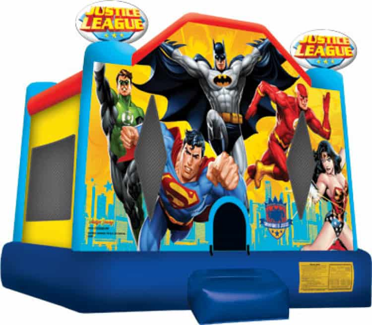 Justice League 15ft x 16ft Large Bounce House