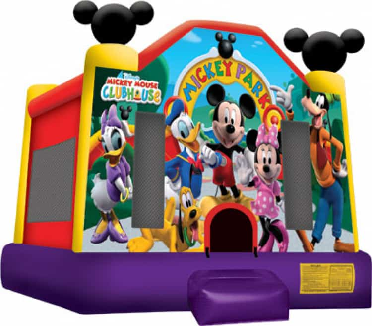 Mickey Park 13ft x 14ft Medium Bounce House