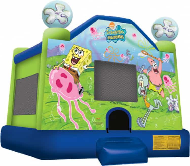Sponge Bob 15ft x 16ft Large  Bounce House
