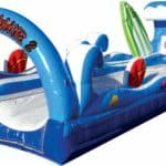 Surf The Wave Double Slip and Slide 11ft x 35ft