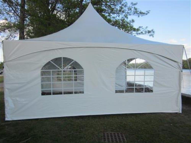 8'x20' Windowed Sidewall High Peak Tents