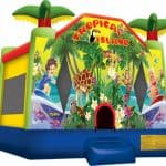 Tropical Island 15ft x 16ft Large  Bounce House