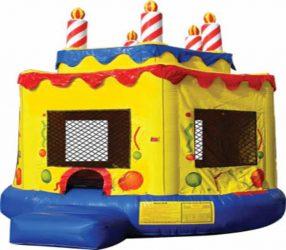 Birthday Cake 17ft x 16ft Large Bounce House