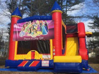 Disney Princess Castle Slide - 18' x 17' Outside Slide