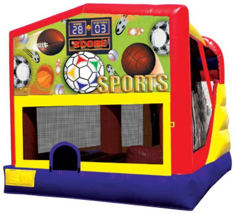 Castle Slide Sports Combo 20' x 16' (Slide is Inside Inflata