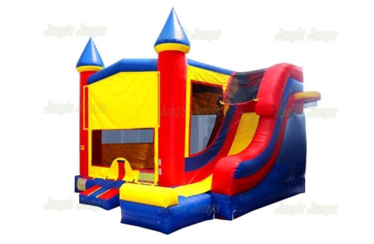 No Theme Castle Slide - 18' x 17' Outside Slide