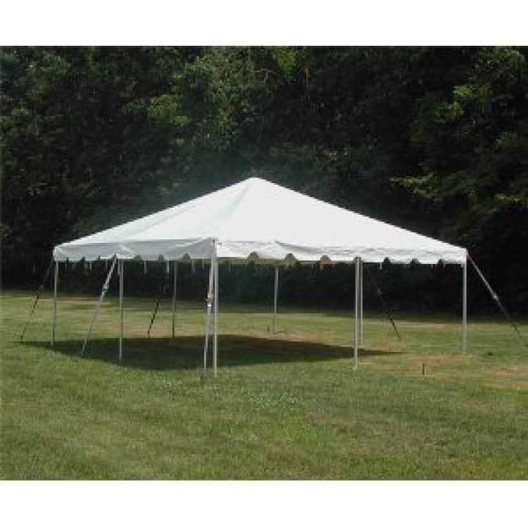 20x20 Traditional Frame Tent 2 Piece