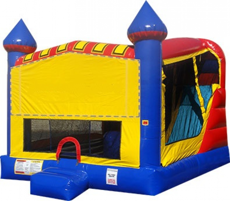 Castle Slide Combo 20'x 16' (Slide is Inside Inflatable)