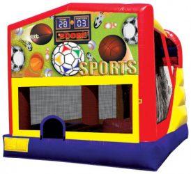 Castle Slide Sports  20' x 16' (Slide is inside Inflatable)