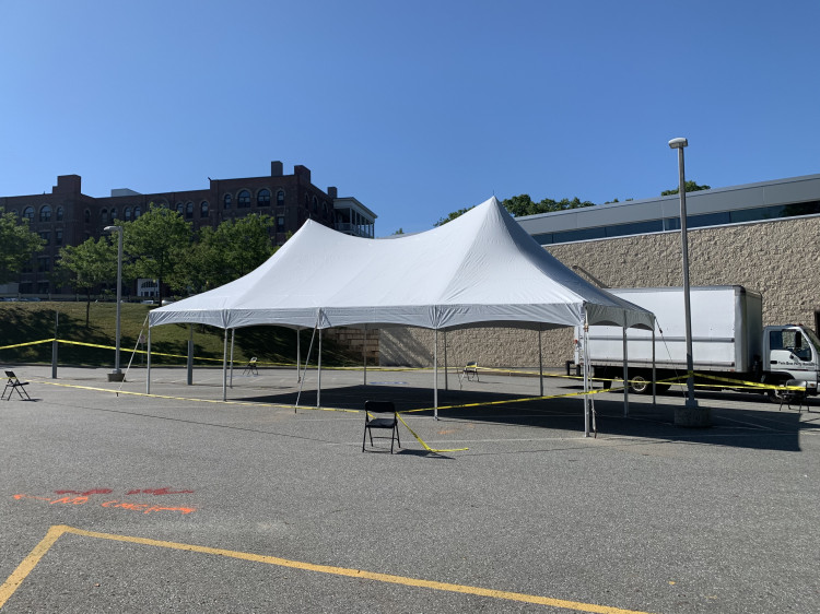 20x40 Traditional Frame Tent HP 1 Piece